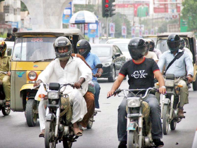 Officials hope the drive at least created some awareness amongst riders. PHOTO: EXPRESS