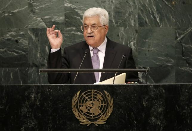 abbas was earlier called out by haley for 039 lacking the courage needed for peace 039 photo reuters