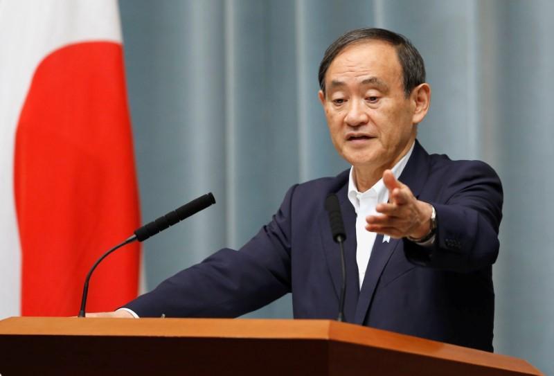 japan 039 s chief cabinet secretary yoshihide suga photo reuters