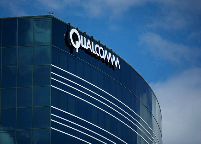 a sign on the qualcomm campus is seen in san diego california us november 6 2017 photo reuters