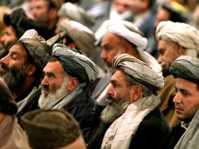 tribal elders at mustang moot say that if india wants to start a war this time it will be inside its territory photo reuters file