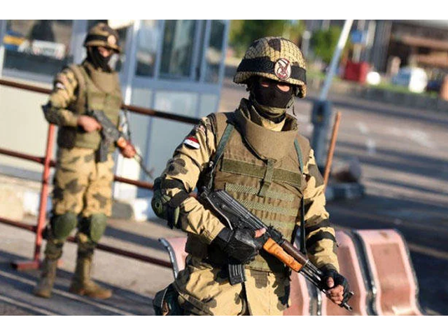 egyptian security forces have been conducting operations in the sinai peninsula involving the army air force and police to defeat a persistent daesh insurgency photo afp
