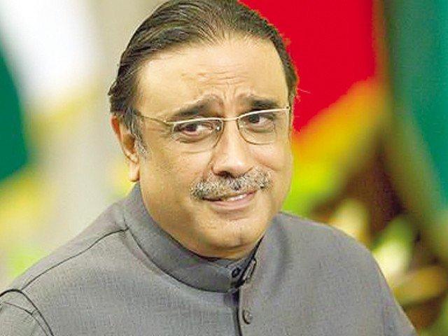ppp co chairman asif ali zardari photo file