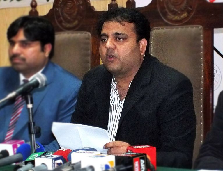 our investigation into the incident reveals that upon receiving a text message from a source fawad chaudhry decided to broadcast the false news photo online