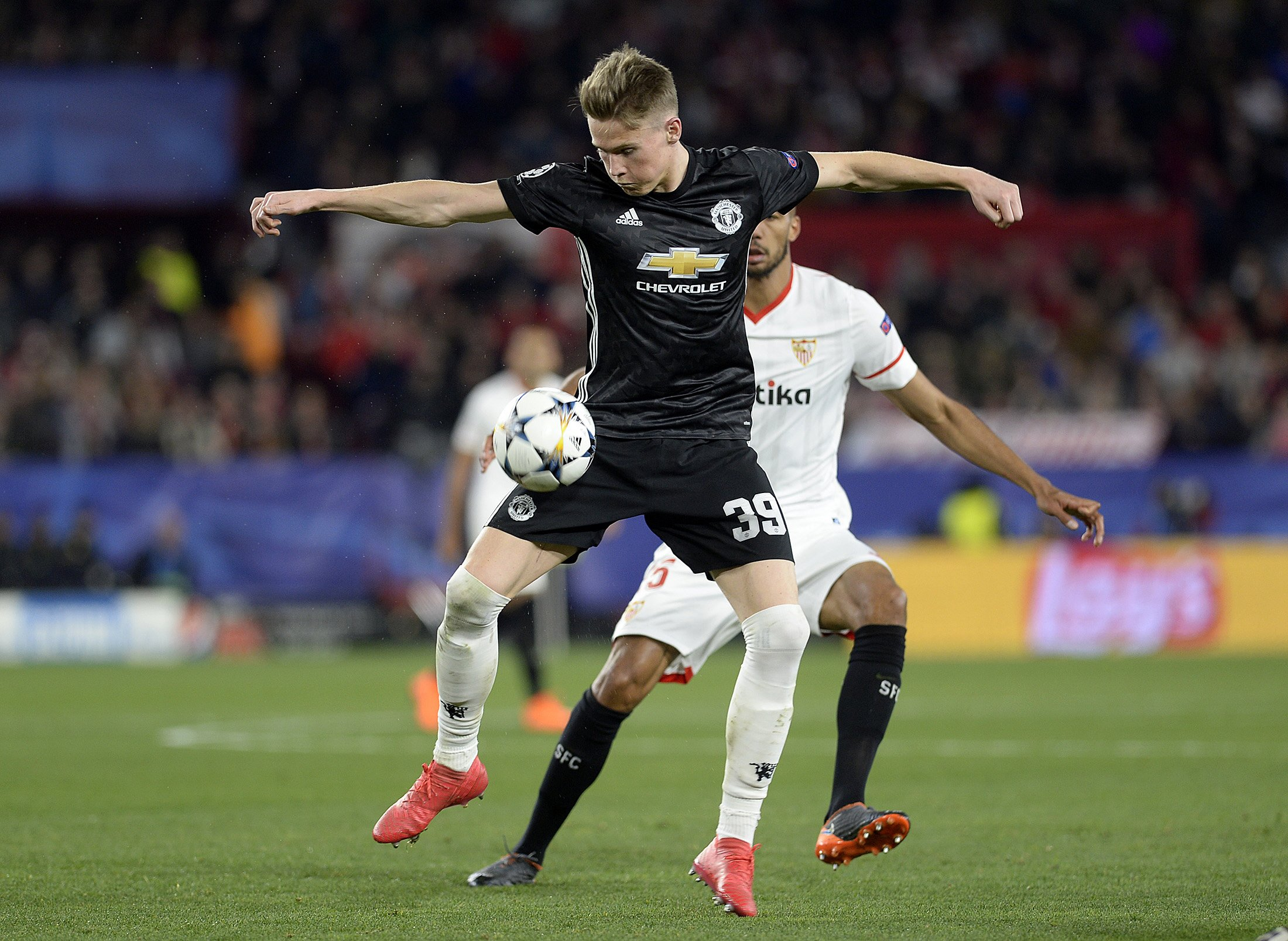 mctominay was easily united s best outfield player and put in an assured performance that belied his young age and inexperience photo afp