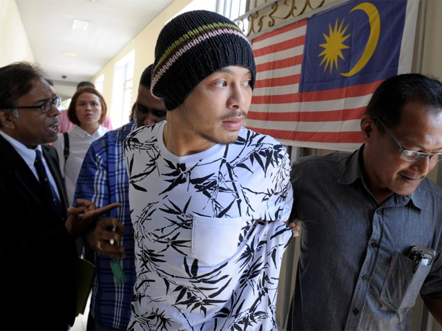 malaysian rapper wee meng chee whose stage name is namewee is pictured leaving a courtroom in penang malaysia august 25 2016 photo reuters
