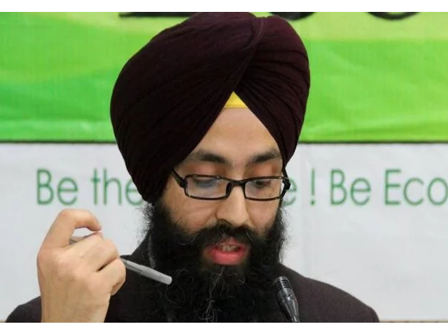 singh was waiting to see a labour mp when the incident occurred photo courtesy ecosikh org