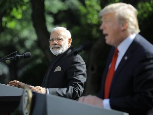 president donald trump holds a joint news conference with indian prime minister narendra modi in the rose garden of the white house in washington photo reuters file