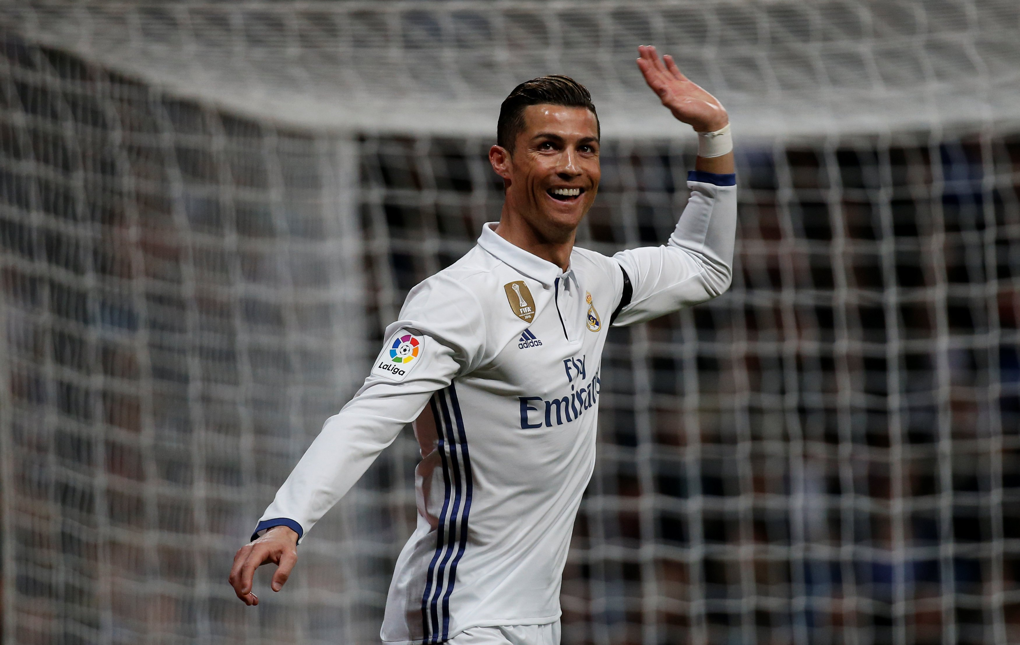 madrid and ronaldo have found their form at the right time but they are almost certainly out of the title race with barcelona already 14 points ahead photo afp