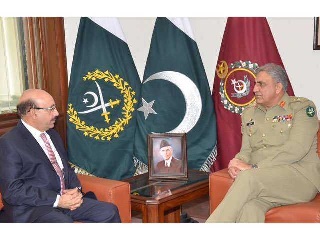 continuing policy of restraint on indian provocations agreed upon in the meeting photo ispr