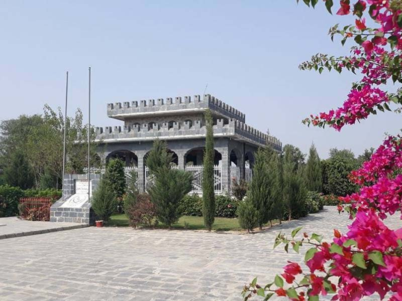 a general view of the tomb of gujju khan photo exress