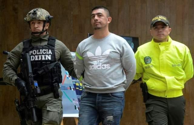 colombian authorities arrested washington prado c seen as ecuador 039 s quot pablo escobar quot in april 2017 photo afp