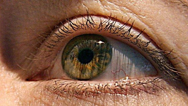 man recovers sight photo afp