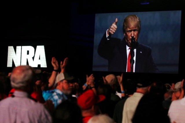 nra pushes back on trumps 039 s gun plans photo reuters