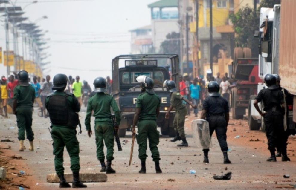 unrest followed guinea 039 s disputed february 4 election leading to the death of at least 10 people photo afp file