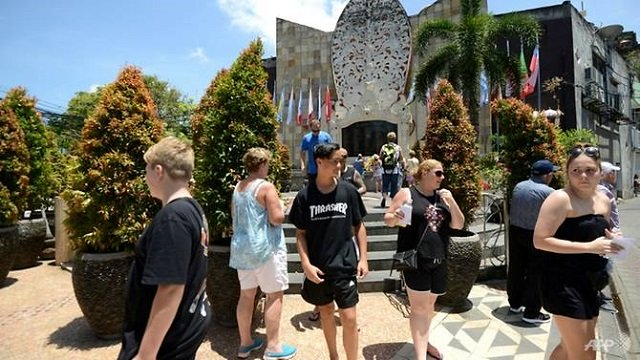 a memorial to victims of the 2002 bali bombings indonesia is planning reconciliation meetings between radicals and their victims photo afp