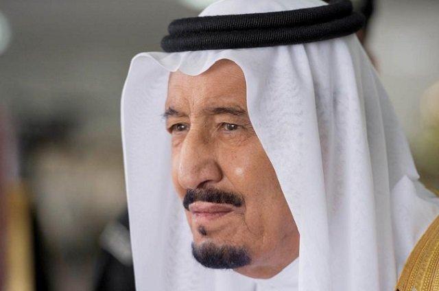 saudi arabia 039 s king salman bin abdulaziz al saud stands during a reception ceremony in riyadh saudi arabia photo reuters