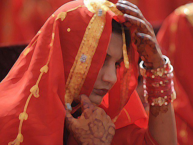 cii chairman dr qibla ayaz says council s report on child marriage likely to be released today photo afp file