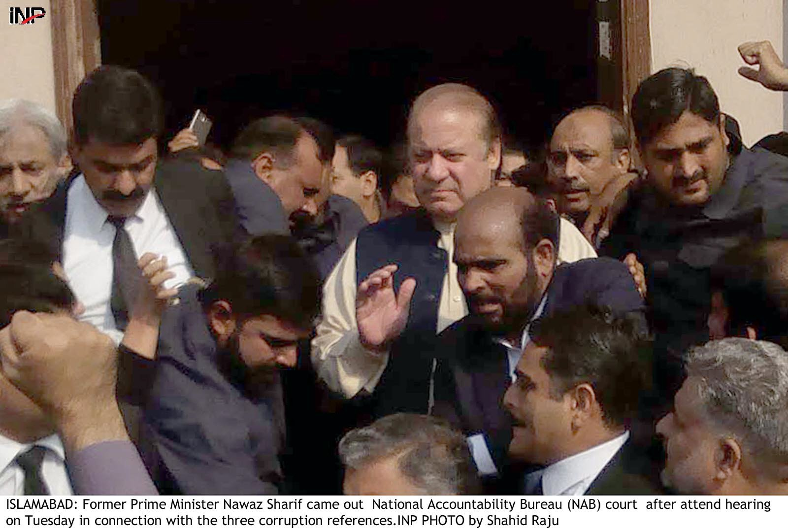 Former prime minister Nawaz Sharif. PHOTO:FILE