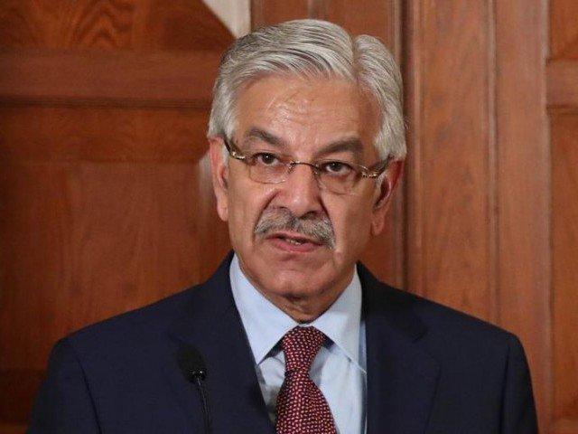 foreign minister khawaja asif photo afp