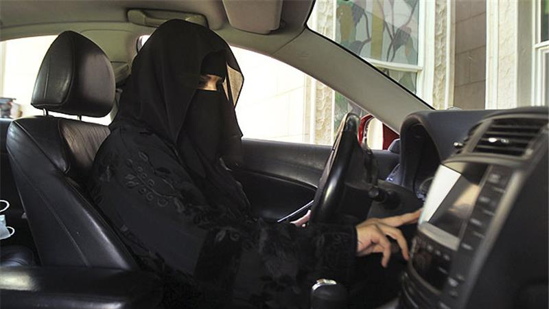 a saudi woman driving a car dspite the ban photo reuters
