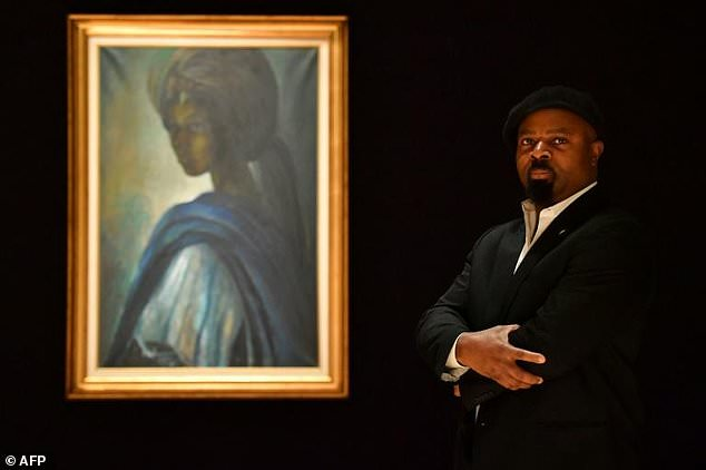 it has been a legendary painting for 40 years everybody keeps talking about tutu saying 039 where is tutu 039 ben okri said after a viewing at bonhams photo afp