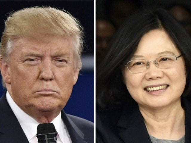 move may spark protests from china similar to when president trump accepted phone call from taiwan 039 s leader in 2016 photo afp