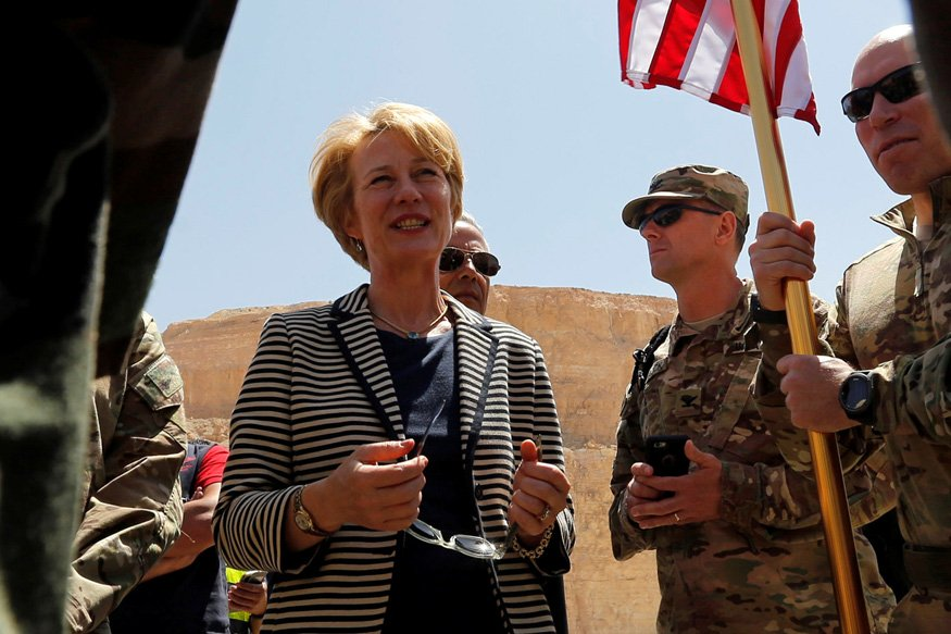 acting assistant secretary of state for south and central asian affairs and acting special representative for afghanistan and pakistan alice wells photo reuters