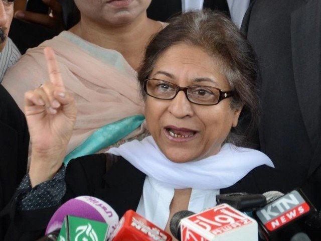 Asma Jahangir's proclivity to act instantly left no time for perversity to prevail. PHOTO: INP