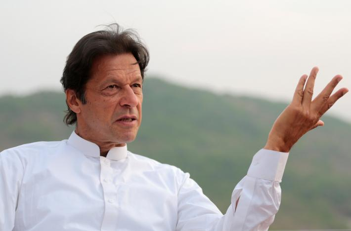 imran khan reiterates call for direct senate election photo reuters