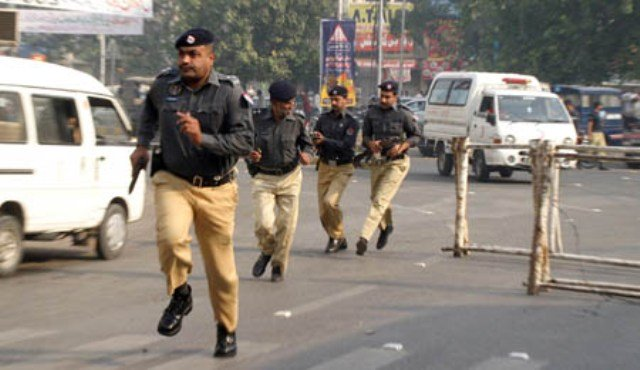 lahore police acquire land for new stations photo afp