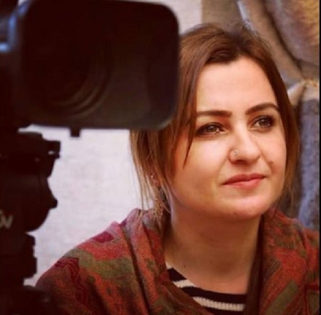 jin news agency reporter durket suren who was reportedly detained in lice district of diyarbakir province on the ground that a search decision has been issued against her photo courtesy of jin news agency