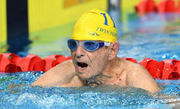 australian 99 year old smashes age world record in pool