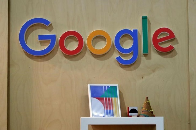 the google logo is seen at the young entrepreneurs fair in paris france february 7 2018 photo reuters