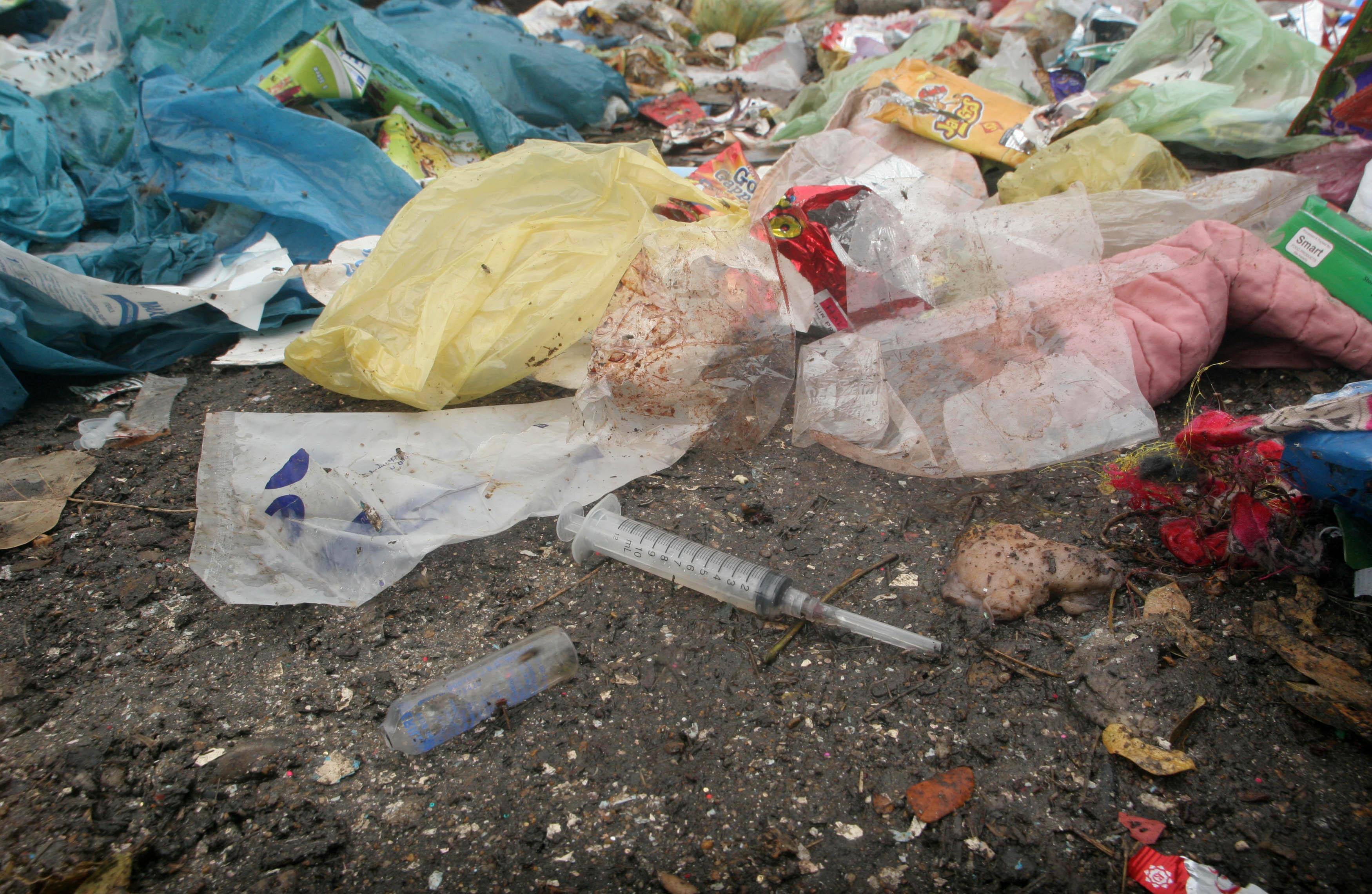 no mechanism to destroy medical waste at sindh s hospitals