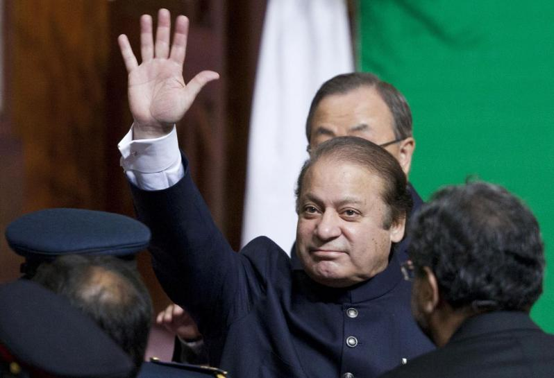 ousted prime minister nawaz sharif photo reuters