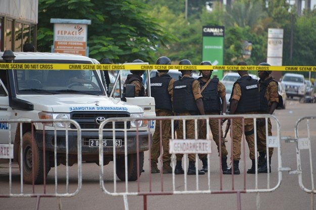 security forces in the burkina faso capital early august 14 concluded an operation against gunmen who launched a deadly attack on a restaurant photo afp