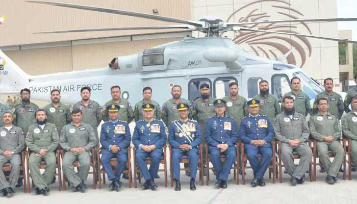 the squad was renamed no 88 combat support squadron and advanced helicopter training photo courtesy radio gov pk