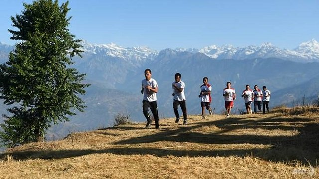 nepal now hosts a handful of races each year including the world 039 s highest marathon that starts at mount everest base camp at a breathless altitude of 5 364 metres photo afp