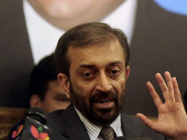 mqm p leader farooq sattar photo afp