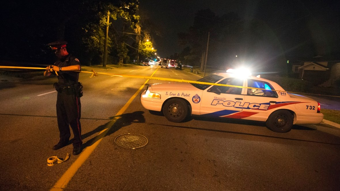 Over a third of homicides in Canada are carried out using guns -- a 40 per cent jump from 2016. PHOTO: Reuters/ File