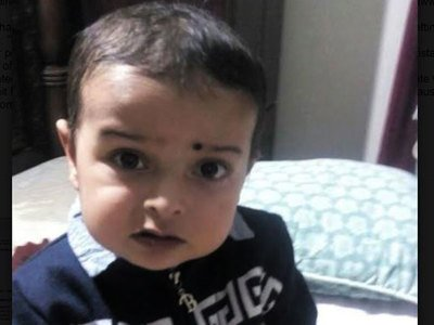 parents of ailing two year old plead for indian medical visas