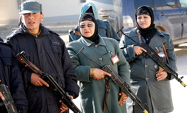 women in afghan security forces