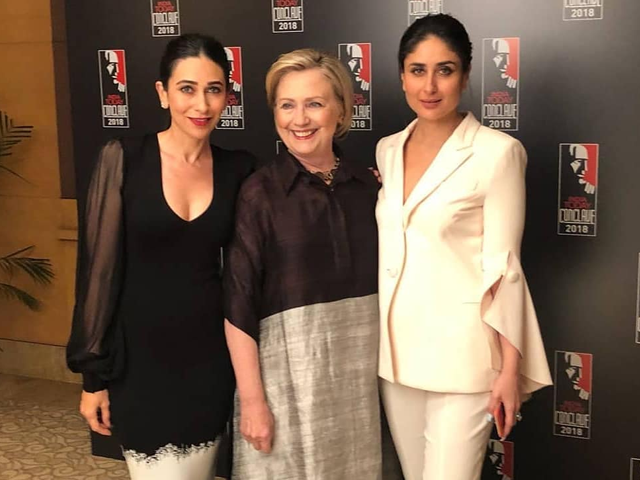 kapoor sisters meet hillary clinton discuss ups downs of bollywood life