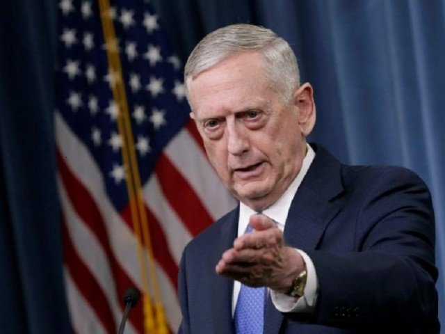 Mattis said he did not currently have clear evidence of any recent chlorine gas attacks. PHOTO: AFP