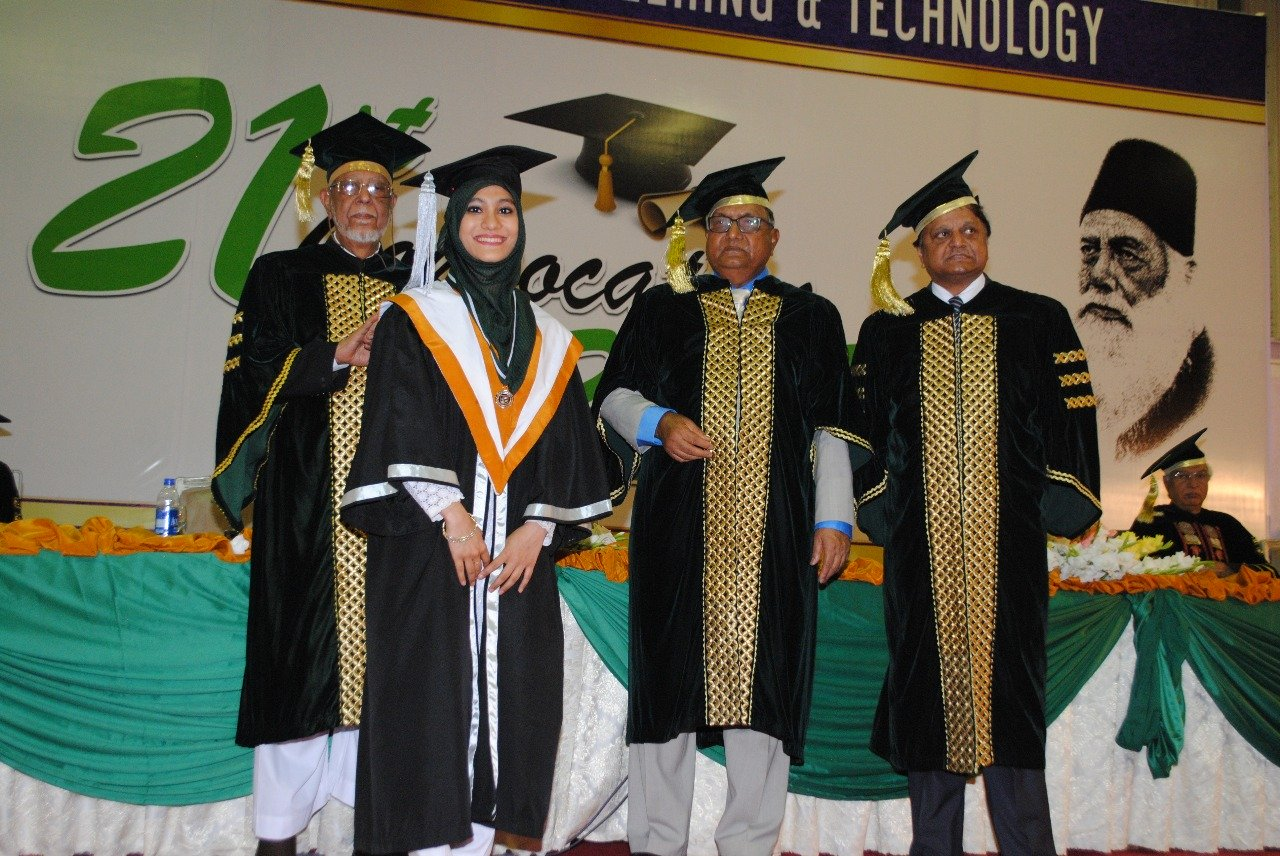 more than 1 000 students conferred degrees at ssuet convocation