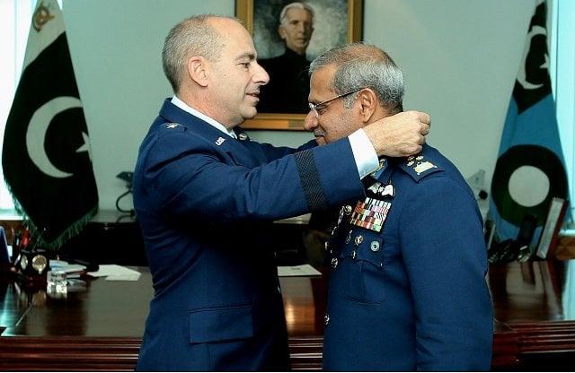 chief of air staff sohail aman awarded us legion of merit