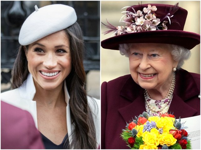 meghan markle fulfills first royal engagement with queen elizabeth
