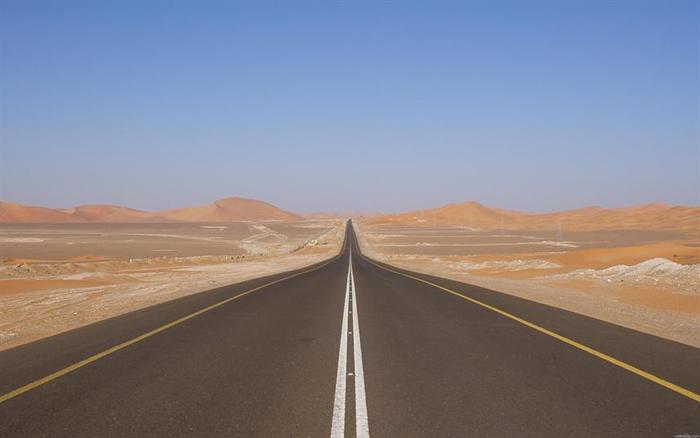 saudi arabia s highway 10 is world s longest straight road