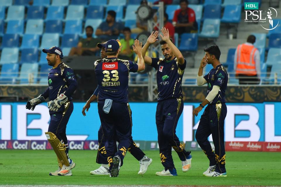 BEST VERSUS WORST: Quetta and Lahore clash with one team on top the table while the latter at the bottom of the table with only two wins from eight matches. PHOTO COURTESY: PSL